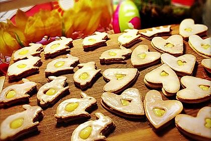Zitronige Ostereier - Kekse 38