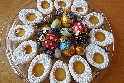 Zitronige Ostereier - Kekse 4