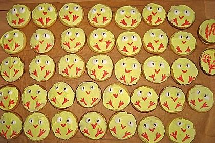 Zitronige Ostereier - Kekse 59