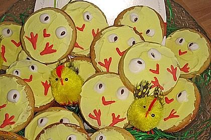 Zitronige Ostereier - Kekse 36