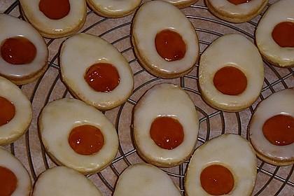 Zitronige Ostereier - Kekse 40