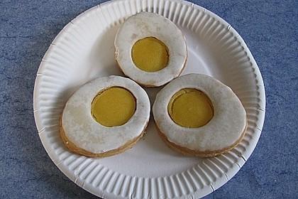 Zitronige Ostereier - Kekse 55