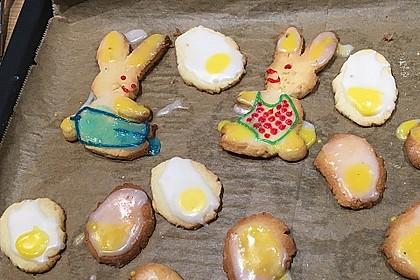 Zitronige Ostereier - Kekse 62