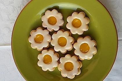 Zitronige Ostereier - Kekse 13
