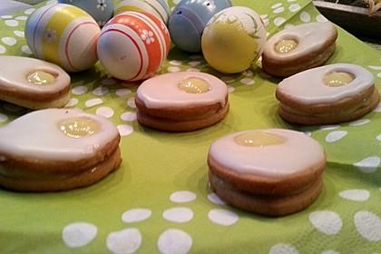 Zitronige Ostereier - Kekse 37