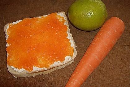 Karotten - Limetten - Konfitüre 1