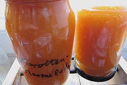 Karotten - Limetten - Konfitüre 4