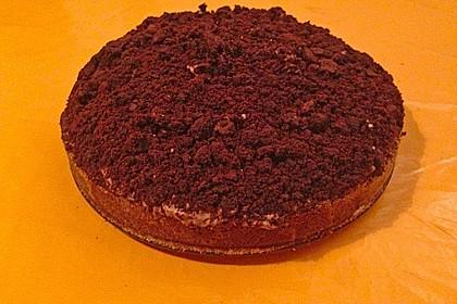 Schoko - Bananen - Kokos - Torte 6