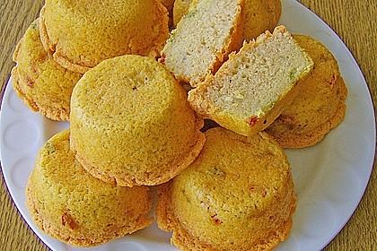 Muffins 'rote Linsen'