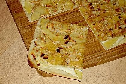 Flammkuchen Elsässer Art, süß oder herzhaft 13