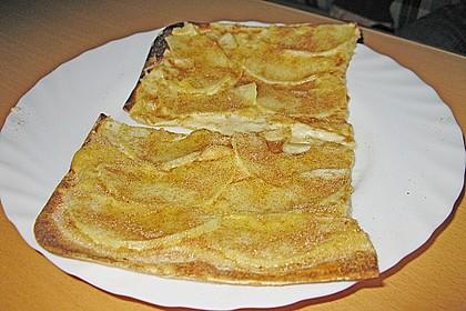Flammkuchen Elsässer Art, süß oder herzhaft 41