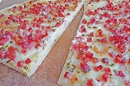 Flammkuchen Elsässer Art, süß oder herzhaft 23