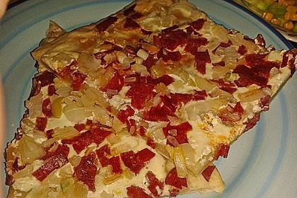 Flammkuchen Elsässer Art, süß oder herzhaft 25