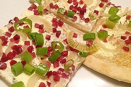Flammkuchen Elsässer Art, süß oder herzhaft 2
