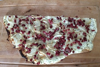 Flammkuchen Elsässer Art, süß oder herzhaft 63