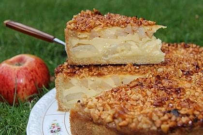 Holländischer Apfelkuchen