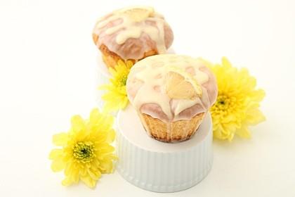 Lockere Zitronenmuffins (Bild)