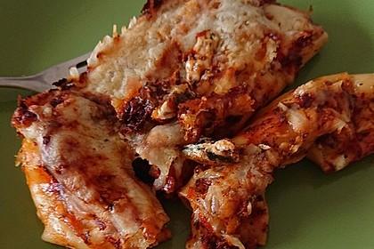 Cannelloni mit cremiger Gemüse-Käse-Füllung 27