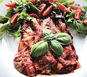 Cannelloni mit cremiger Gemüse-Käse-Füllung (Bild)