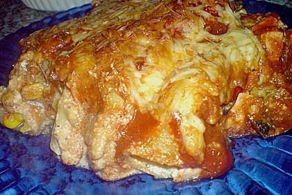 Cannelloni mit cremiger Gemüse-Käse-Füllung 65
