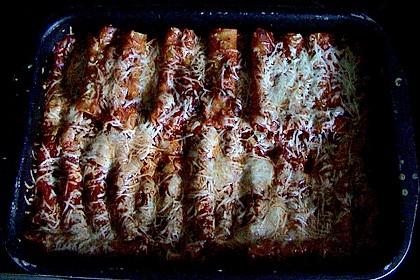Cannelloni mit cremiger Gemüse-Käse-Füllung 66