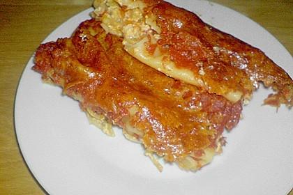 Cannelloni mit cremiger Gemüse-Käse-Füllung 90