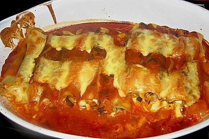 Cannelloni mit cremiger Gemüse-Käse-Füllung 59