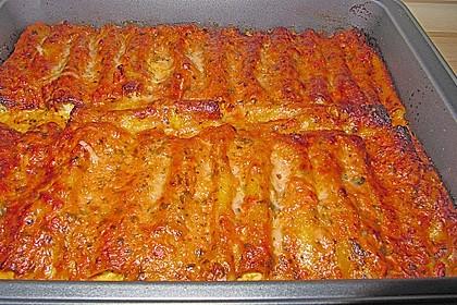 Cannelloni mit cremiger Gemüse-Käse-Füllung 21