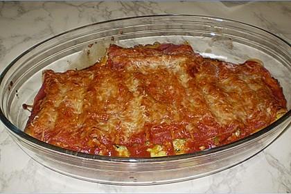 Cannelloni mit cremiger Gemüse-Käse-Füllung 50