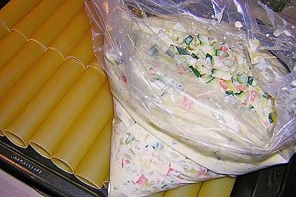 Cannelloni mit cremiger Gemüse-Käse-Füllung 70