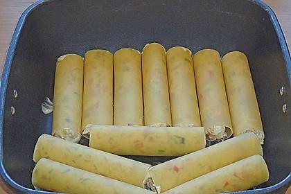 Cannelloni mit cremiger Gemüse-Käse-Füllung 53