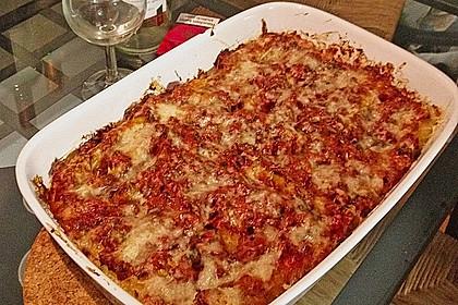Cannelloni mit cremiger Gemüse-Käse-Füllung 89
