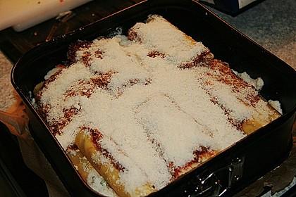Cannelloni mit cremiger Gemüse-Käse-Füllung 88
