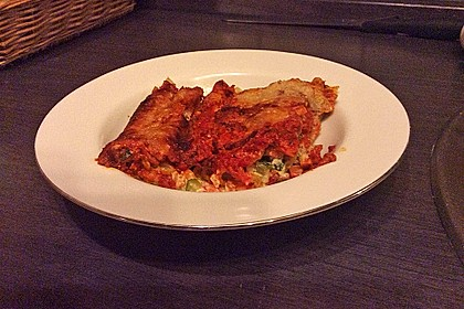Cannelloni mit cremiger Gemüse-Käse-Füllung 92