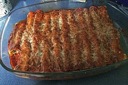 Cannelloni mit cremiger Gemüse-Käse-Füllung 51