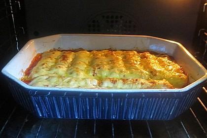 Cannelloni mit cremiger Gemüse-Käse-Füllung 22