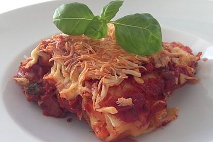 Cannelloni mit cremiger Gemüse-Käse-Füllung 3