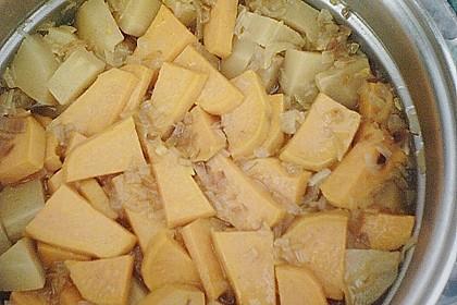Pastinaken - Süßkartoffelsuppe 19
