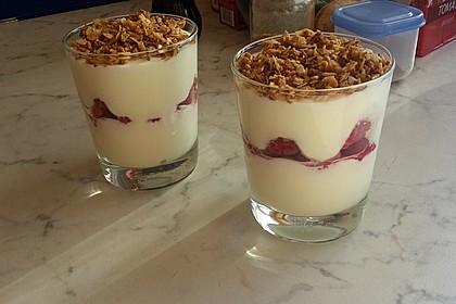 Schnelles Himbeer Dessert 20