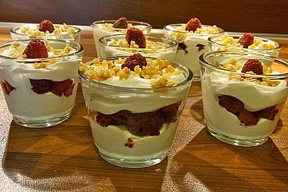 Schnelles Himbeer Dessert 7