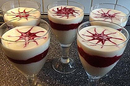 Schnelles Himbeer Dessert 3
