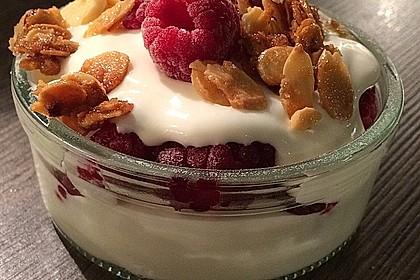 Schnelles Himbeer Dessert 1