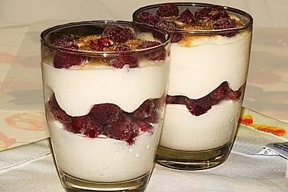 Schnelles Himbeer Dessert 15