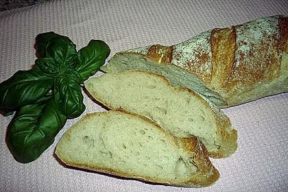 Baguette mit Sauerteig 11