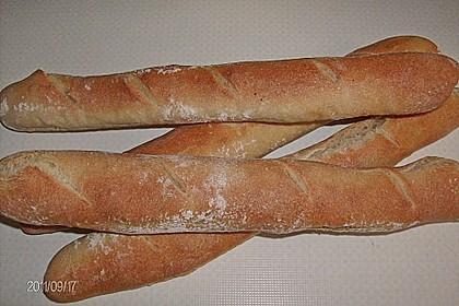 Baguette mit Sauerteig 21