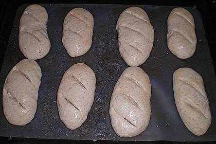 Baguette mit Sauerteig 33