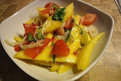 Feuriger Mangosalat 3