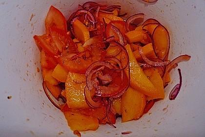 Feuriger Mangosalat 12