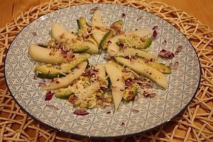 Avocado - Birnen - Carpaccio