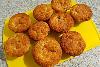 Muffins mit Kakao und Schokostückchen 1